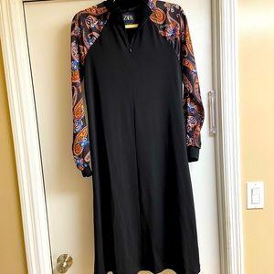 Zara Paisley Print Dress